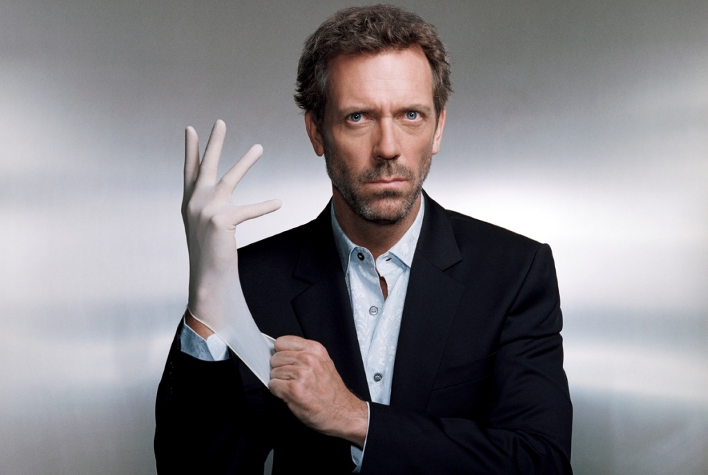 ca.2006 --- Hugh Laurie --- Image by © Justin Stephens/Corbis Outline