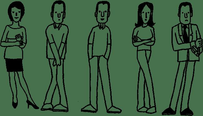 Оценивать жестикуляцию и телодвижения